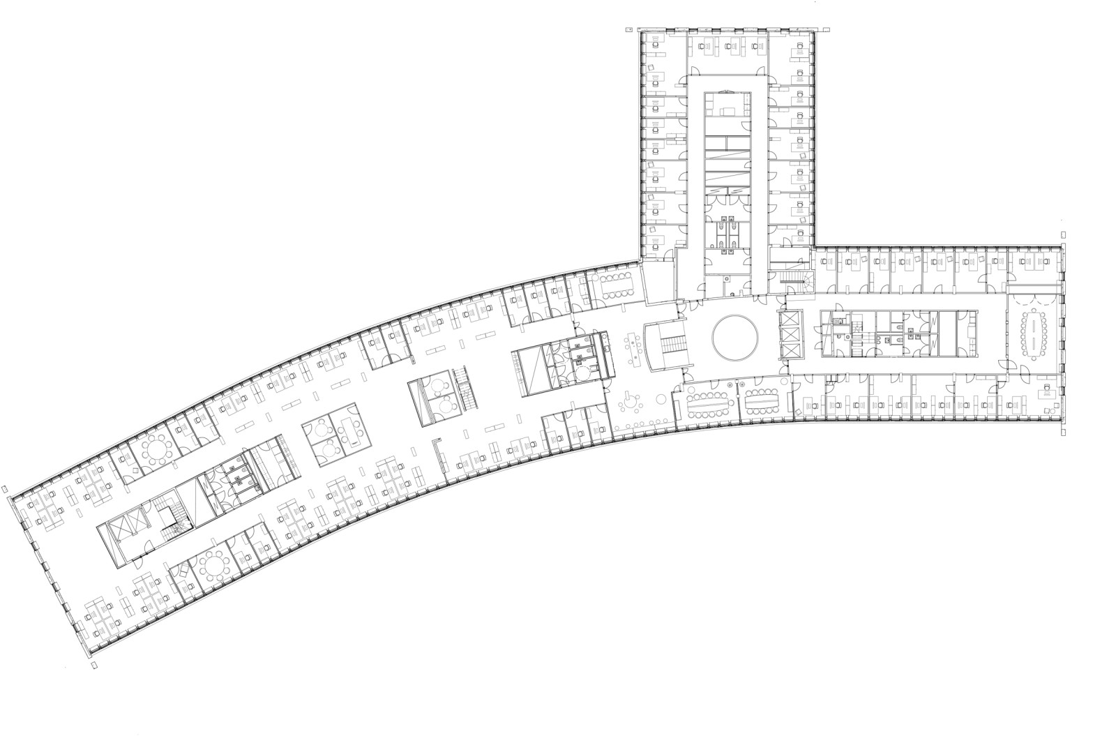 Floor plan, 6th floor
